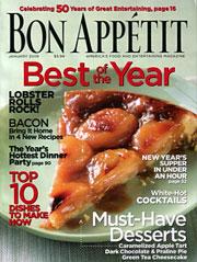 Bon Appétit January 2006