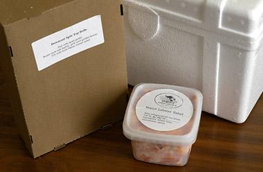 Lobster roll kit from Hancock Gourmet Lobster