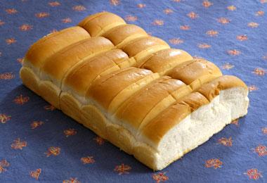 Six top-split rolls