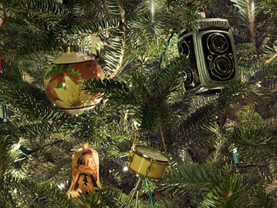 Rolleiflex ornament