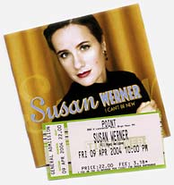 Susan Werner I Can't Be New CD