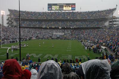Beaver Stadium, Penn State vs. Akron