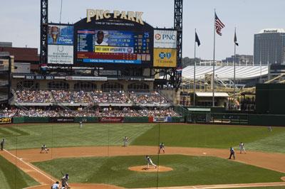 PNC Park, July 8, 2007